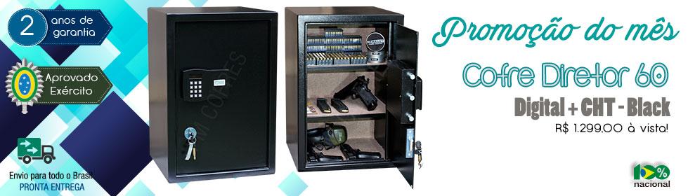 Cofre Diretor 60 Digital + CHT – Black| Promoção do Mês