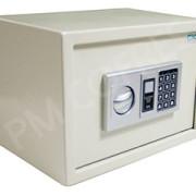Cofre Eletrônico Digital PM 35 com chave e prateleira